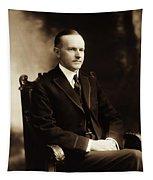 Calvin Coolidge Portrait Tapestry