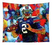 Cam Newton War Eagle Rises Tapestry