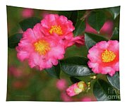 Camellia Pink Tapestry