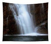 Cameron Falls In Waterton Lakes National Park Of Alberta Tapestry