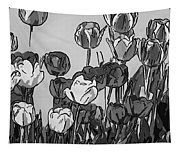 Camille's Tulips - Version 4 Tapestry