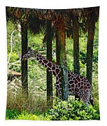 Camouflage Coat Tapestry