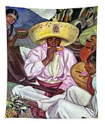 Camping Zapatistas, 1922 Tapestry