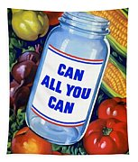 Can All You Can -- Ww2 Tapestry