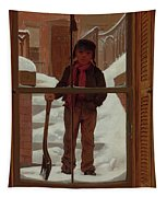 Can I Shovel Off The Snow ? Tapestry