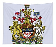 Canada Coat Of Arms Tapestry