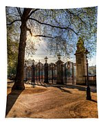 Canada Gate Green Park London Tapestry