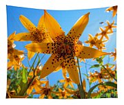 Canada Lily Tapestry