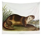 Canada Otter Tapestry