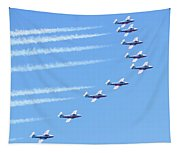 Canadian Air Force Snowbirds Tapestry