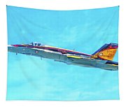 Canadian Armed Forces Cf-18 Hornet Tapestry