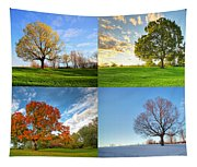 Canadian Seasons Tapestry