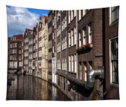 Canal Houses Tapestry