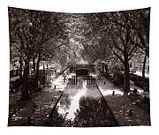 Canal Saint Martin 2 Tapestry