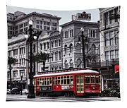 Canal Street Trolley Tapestry