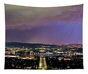 Canberra Stormy Night Tapestry