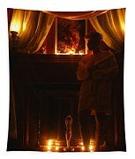 Candlelight Glow Tapestry
