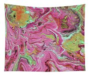Candy Coated- Abstract Art By Linda Woods Tapestry