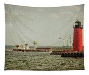 Canim And Milwaukee Pierhead Tapestry