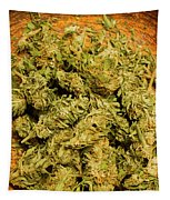 Cannabis Bowl Tapestry