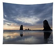 Cannon Beach At Sunset 5 Tapestry