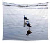 Cannon Beach Buddies Tapestry