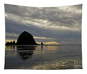 Cannon Beach Reflections Tapestry