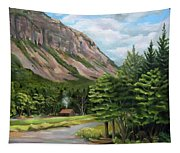 Cannon Cliff New Hampshire Tapestry