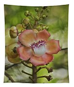 Cannonball Blossom Tapestry