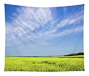 Canola Blue Tapestry