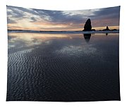 Canon Beach At Sunset 6 Tapestry