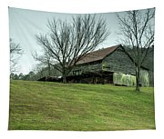 Cantilever Barn Sevier County Tennessee Tapestry