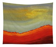 Canyon Outlandish Original Painting Tapestry