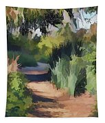 Canyon Path II Painterly Tapestry
