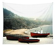 Cape Breton Fishing Boats Tapestry