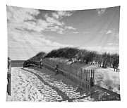 Cape Cod Beach Entry Tapestry
