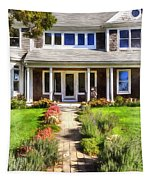 Cape Cod Home Tapestry