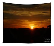 Cape Cod Sunset Tapestry