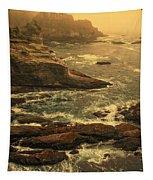 Cape Flattery Misty Morning - Washington Tapestry
