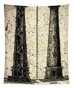 Cape Hatteras Art Tapestry
