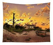 Cape Lookout Lighthouse 2 Tapestry
