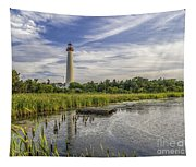 Cape May Lighthouse From The Pond Tapestry