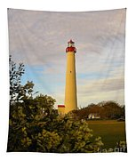 Cape May Lighthouse In Spring Tapestry
