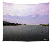 Cape Poge Bay At Martha's Vineyard Tapestry