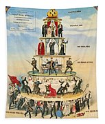 Capitalist Pyramid, 1911 - To License For Professional Use Visit Granger.com Tapestry