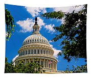 Capitol Of The United States Tapestry
