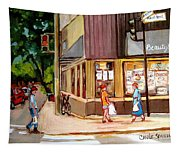 Cappucino  Cafe At Beauty's Restaurant Tapestry