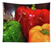 Capsicum In The Wash Tapestry