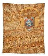 Captain America Lullaby Original Digital Tapestry