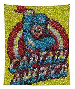 Captain America Mm Mosaic Tapestry